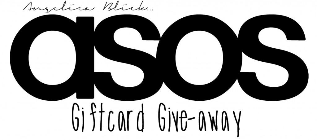 Asos Give away Angelica Blick