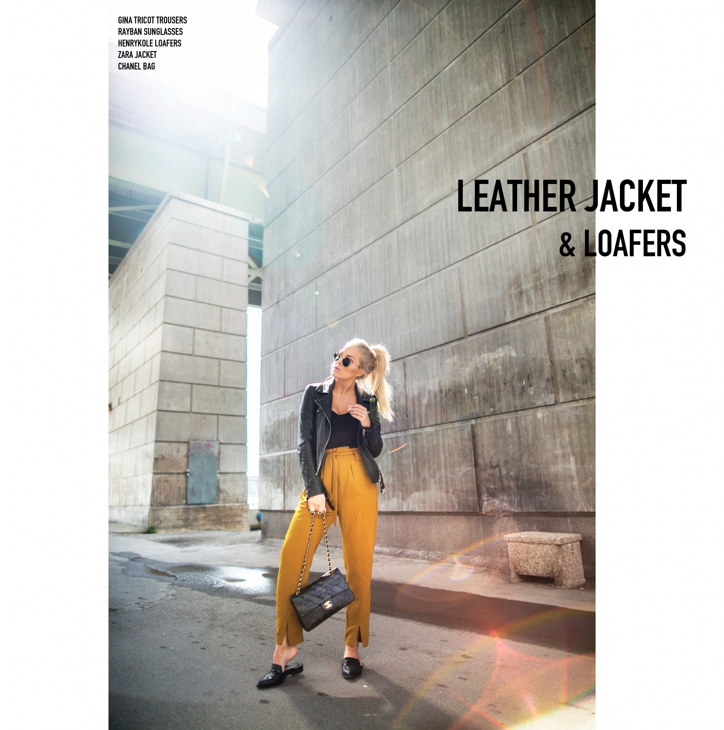 skinnjacka, leatherjacket, rayban, snygga solglasögon