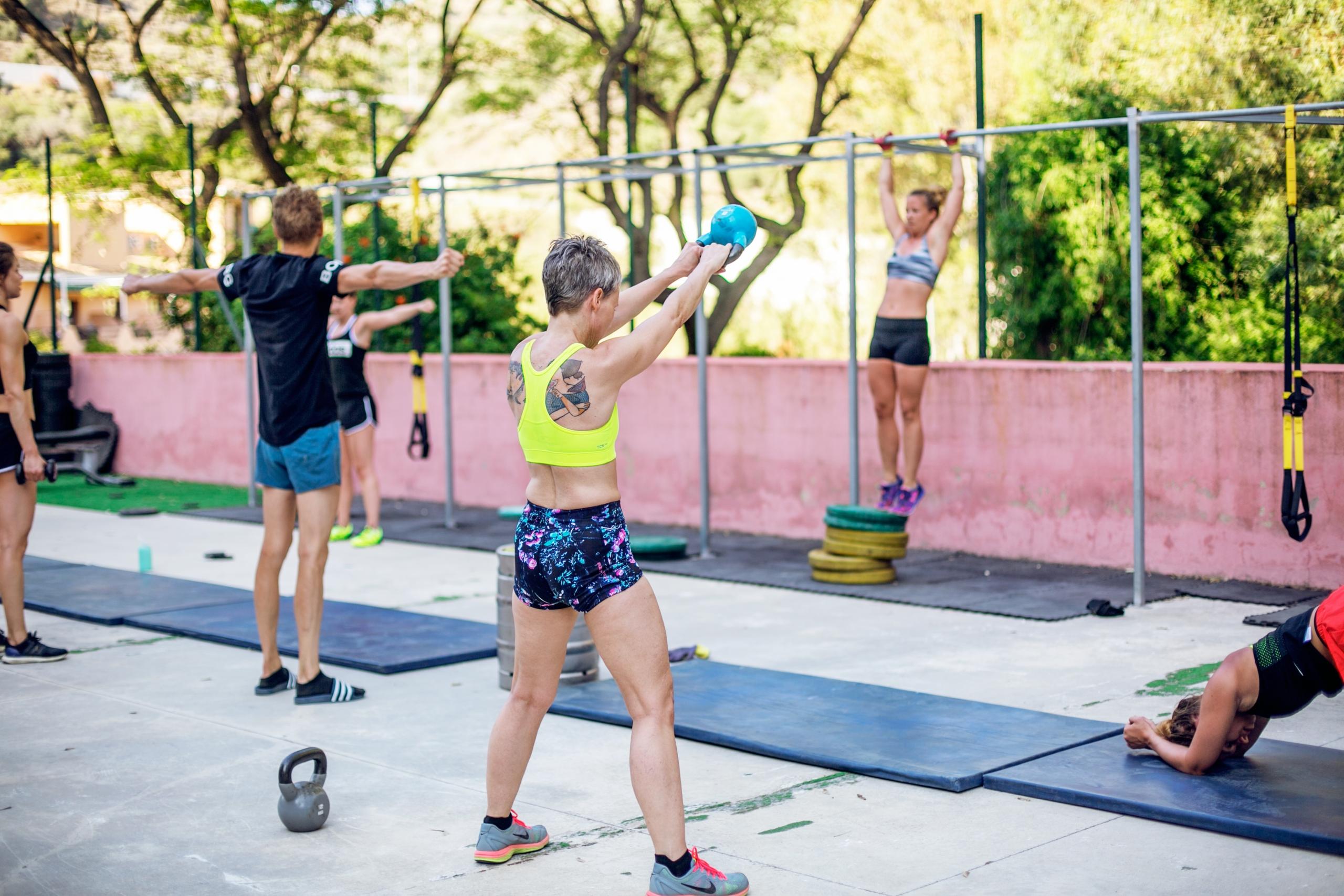 träning i marbella