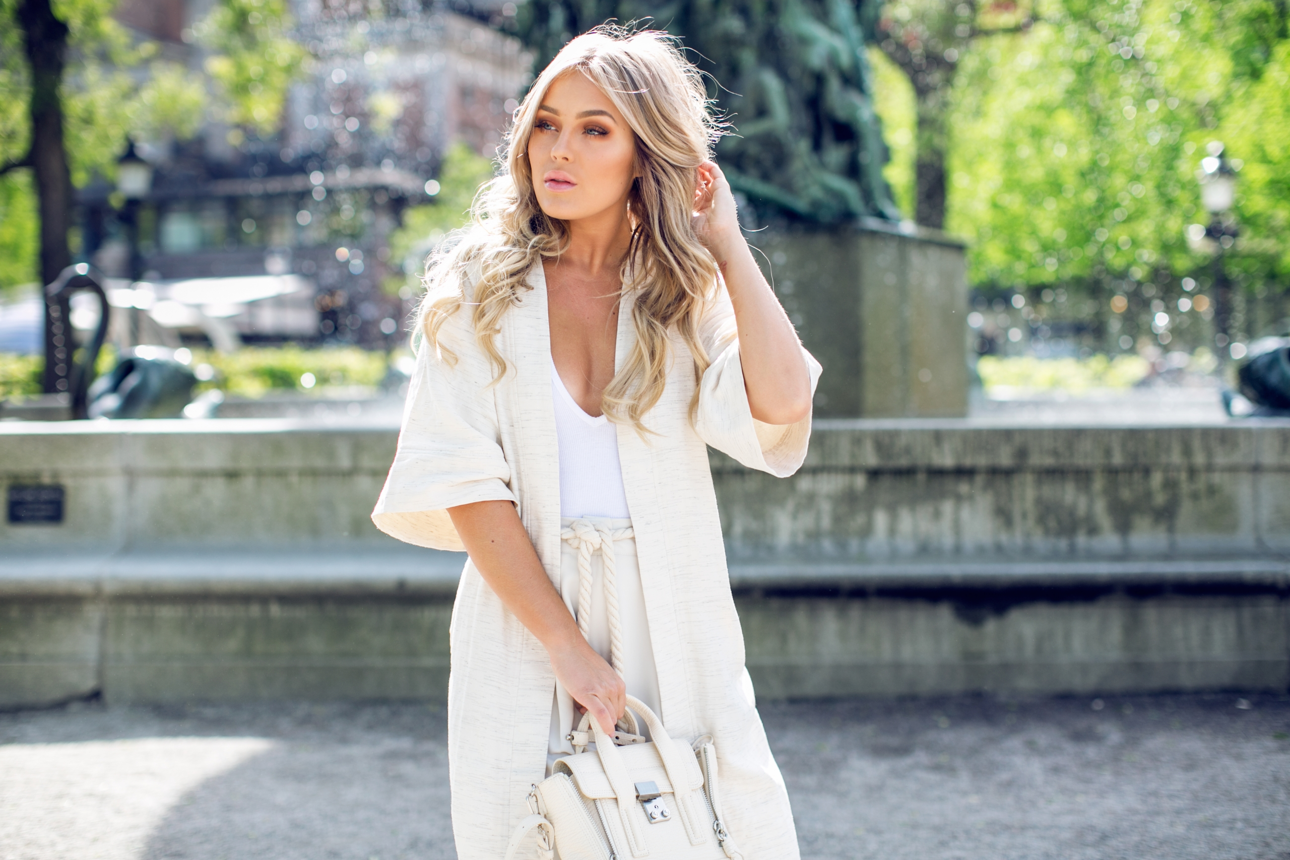 OUTFIT, vita byxor, lindex byxor, vit outfit
