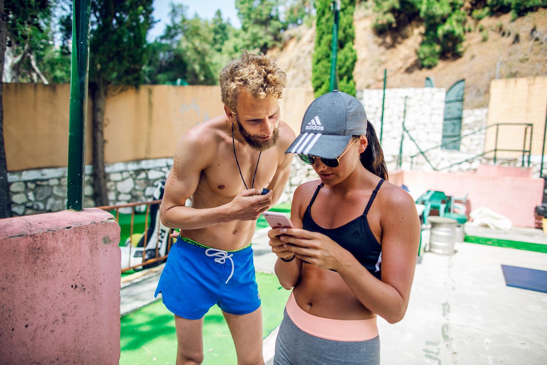 Marbella workout
