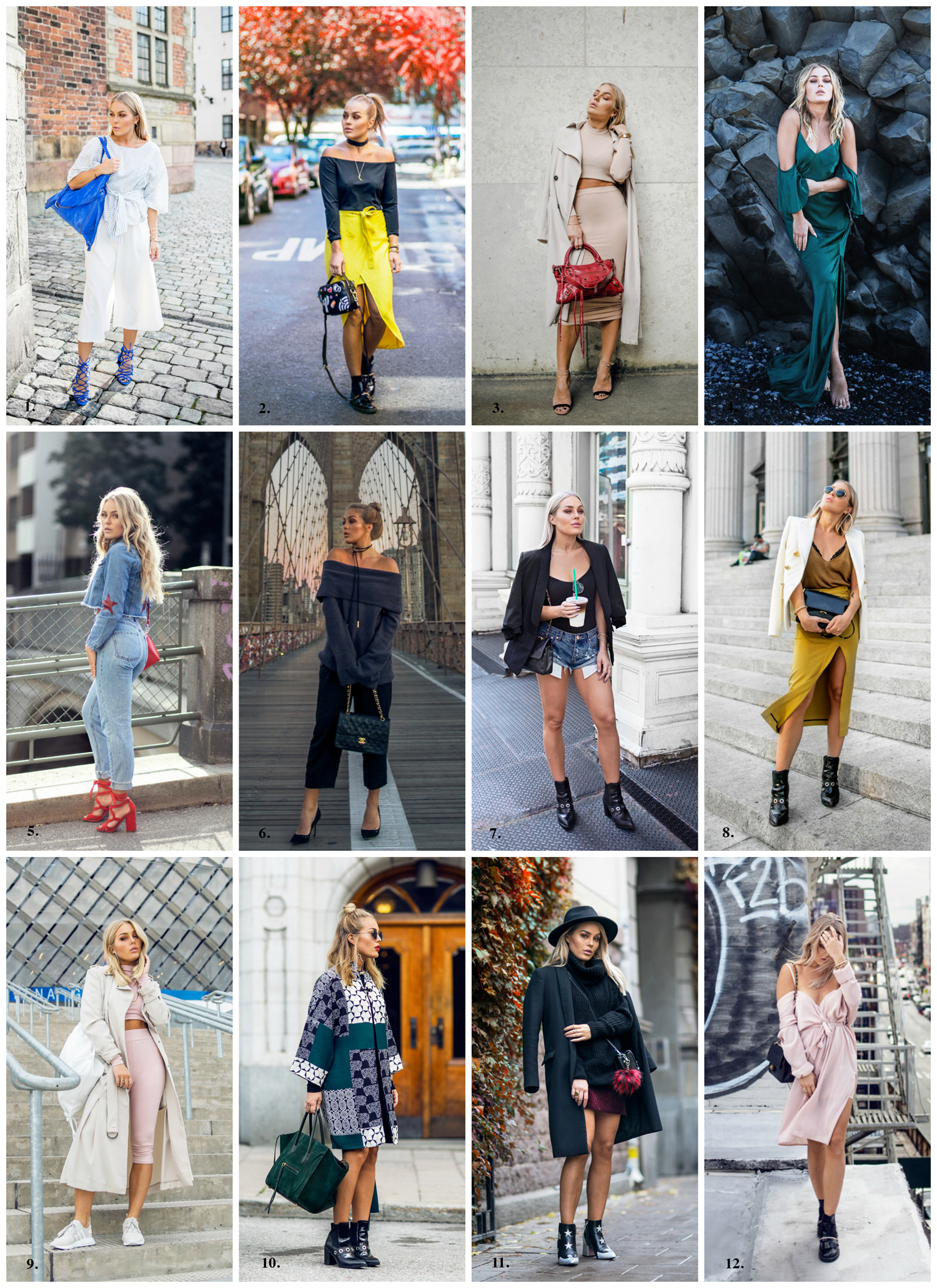 Angelica Blick outfits