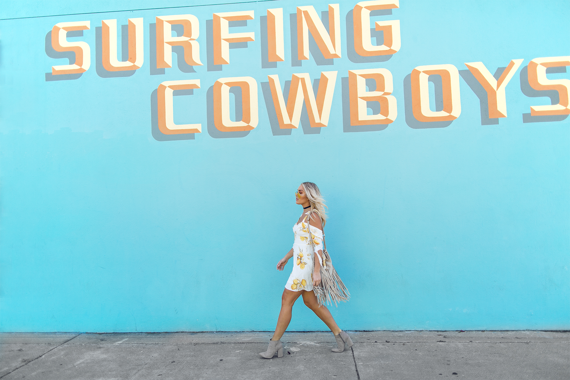 Surfing cowboys