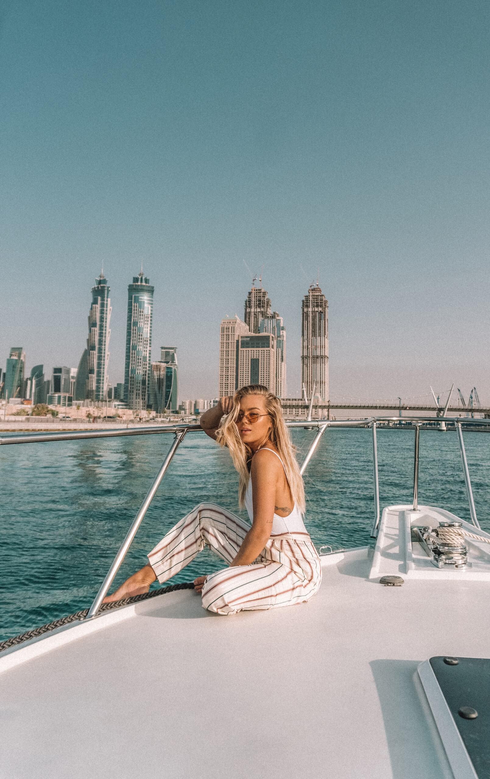 boat in Dubai